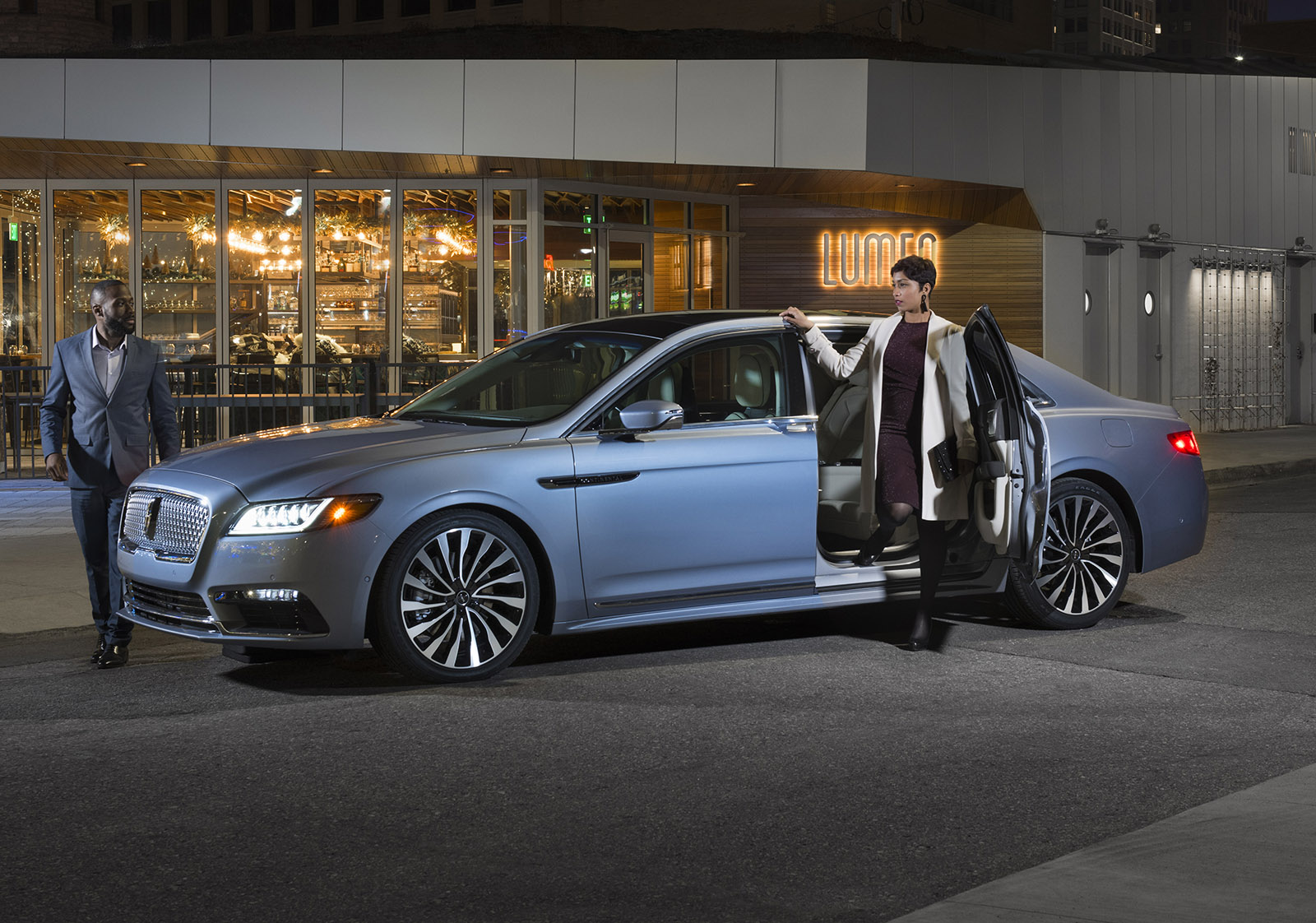 King of Egress: Lincoln Stretches 2019 Continental, Swaps Rear Doors for a Limited Few