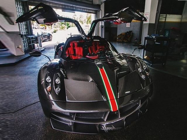 Is this the First Ever Pagani Huayra Crash In North America?