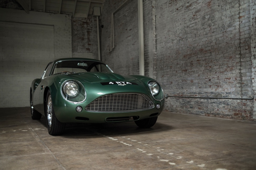 This Classic Aston Martin DB4GT Just Sold For Enough to Break an Auction Record
