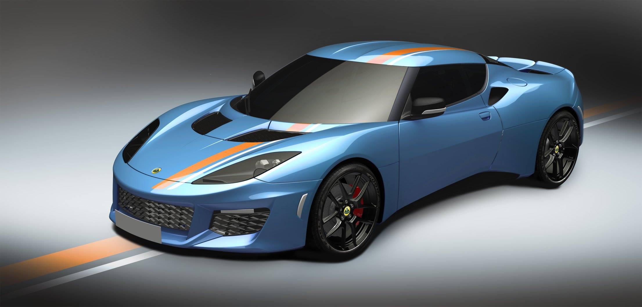 Lotus Fans Choose Color Scheme of Limited-Edition Evora 400