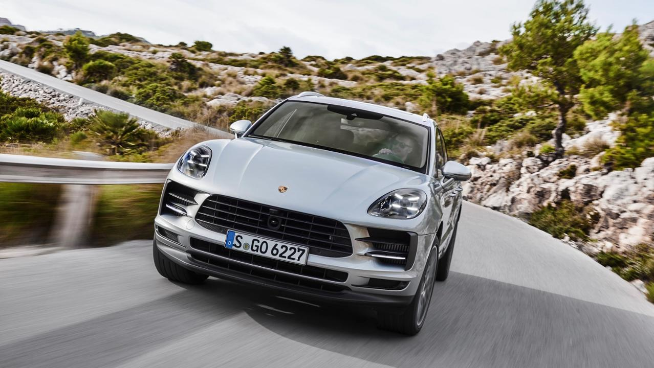 Porsche Removes a Turbo, Adds 8 HP to Refreshed Macan S