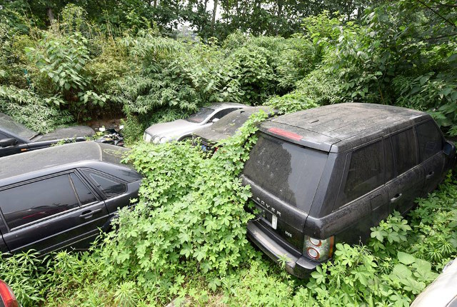 Is This The Saddest Car Graveyard In The World Com