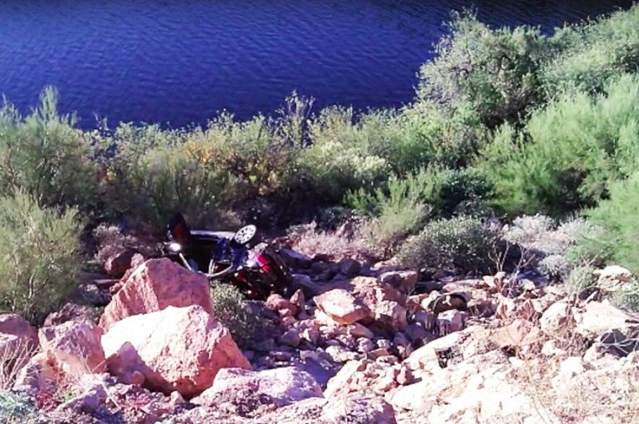 Watching This Guy Accidentally Drift His BMW M3 Off a Cliff Will Make You Cringe