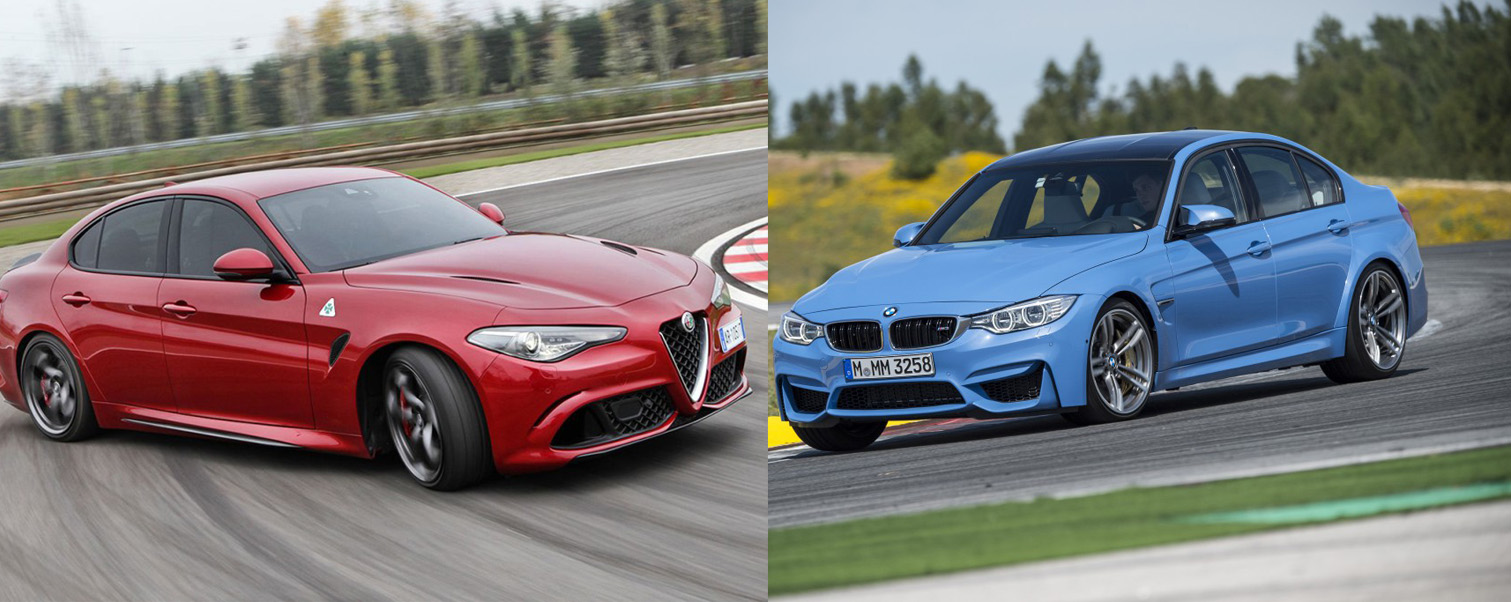 Would You Rather: Alfa Romeo Giulia Quadrifoglio or BMW M3?
