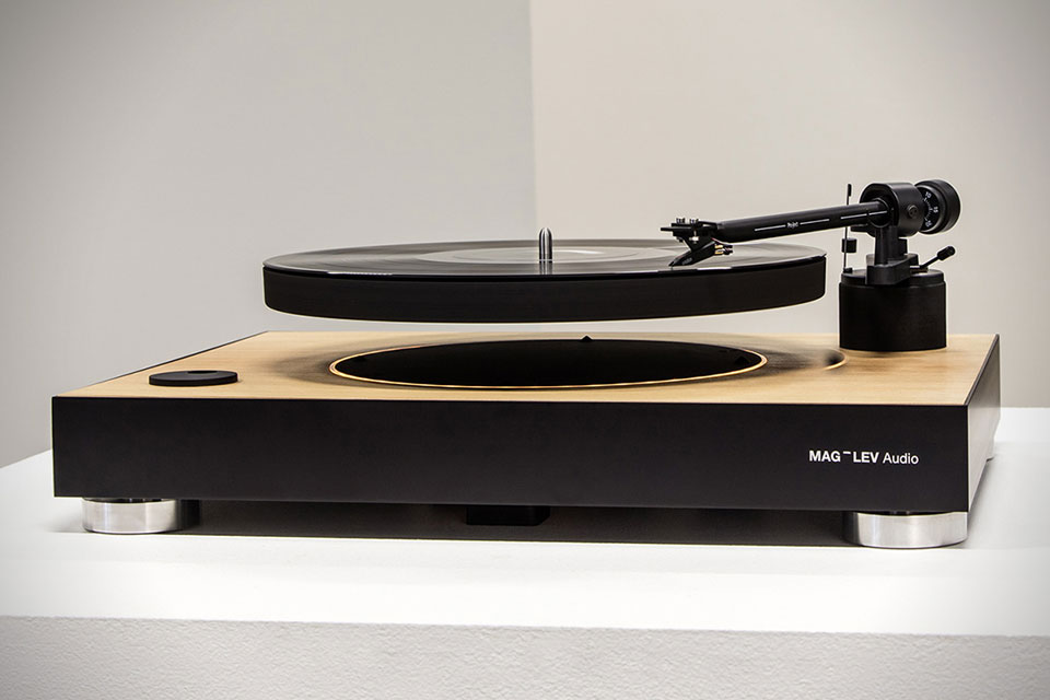 This Mag-Lev Turntable is Mental