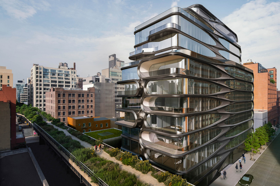 The Manhattan Skyline is Getting a Futuristic Upgrade with This Super Luxe Condo