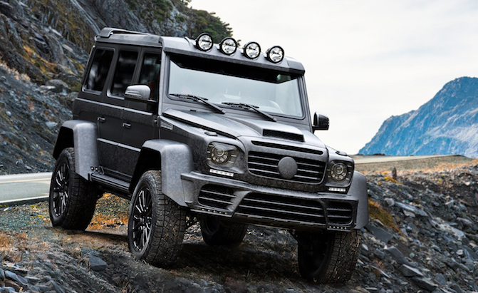 New Mansory Mercedes G500 4×4² Is A Carbon Cloaked Heavyweight