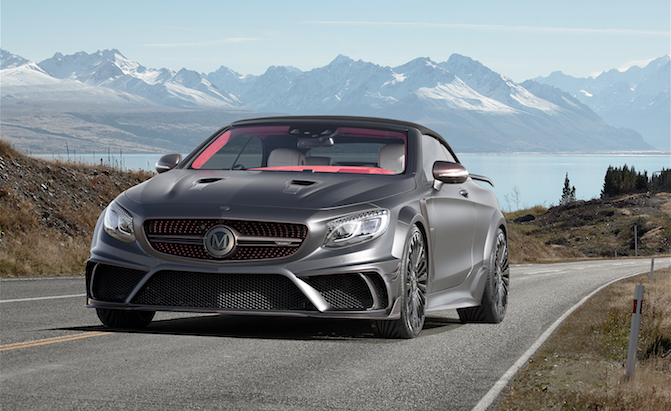 Mansory Turns the Mercedes-AMG S63 Cabrio Into a Monster