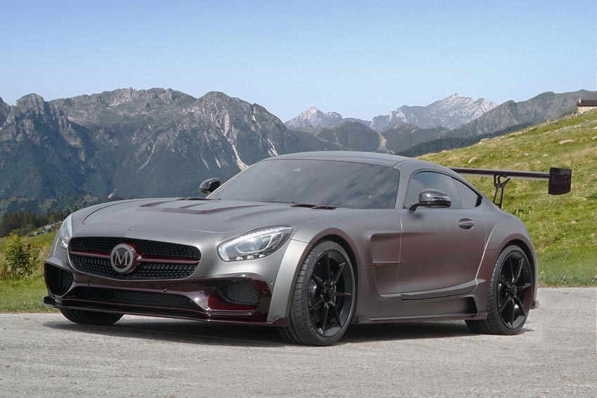 This New One-Off Mansory Mercedes-AMG GT S is One Super Aggressive Wide Body