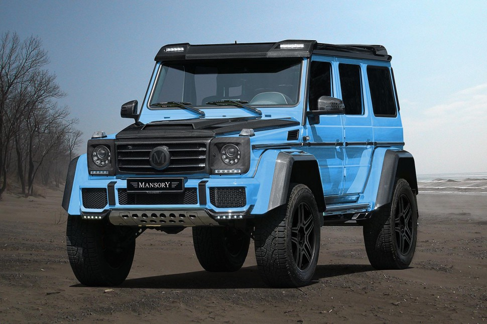 The New Mansory Mercedes G500 4×4 is Luxury Off-Road Insanity