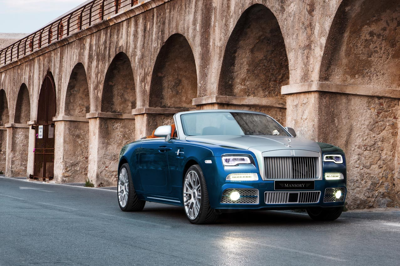 Mansory Just Out-Luxed The Rolls-Royce Dawn—To A Whopping 740HP