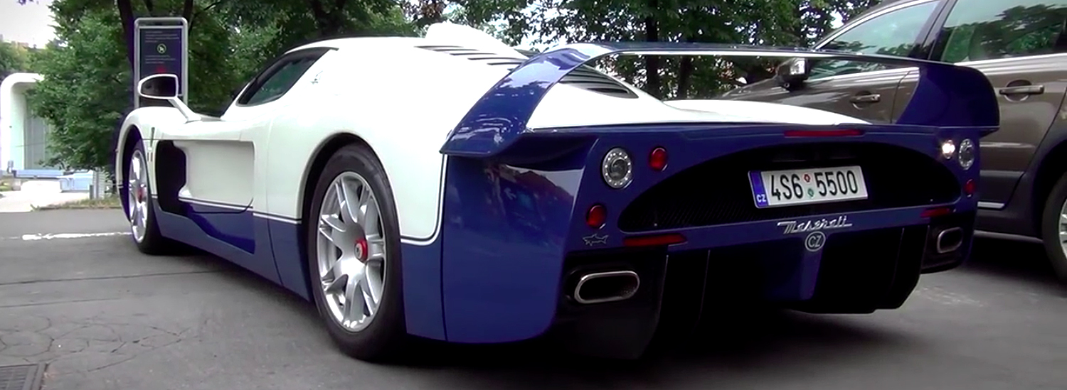 does this rare maserati mc12 with custom exhaust sound as good as it