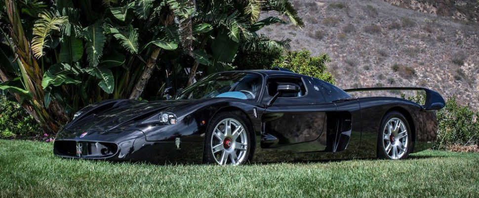 Wow! This One-of-a-Kind All-Black Maserati Sold For How Much?