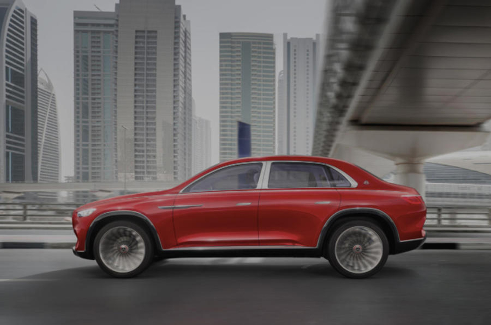 Maybach Concept is an SUV-Sedan Mish-Mash and it's Weird