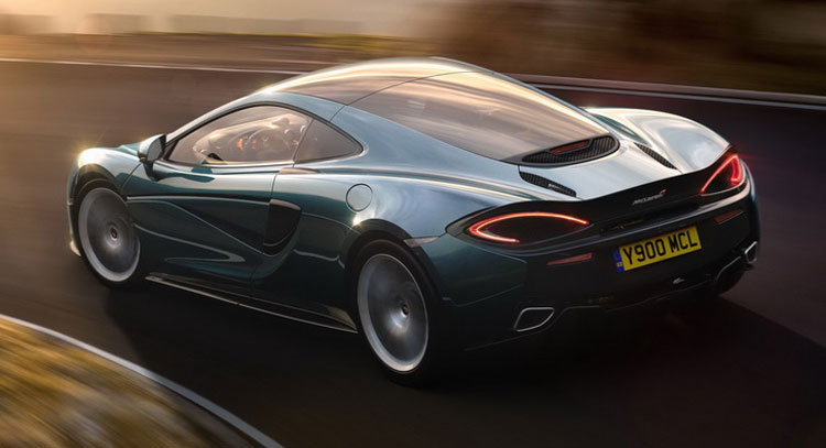 Check Out the McLaren 570GT Debuting at the 2016 London Motor Show