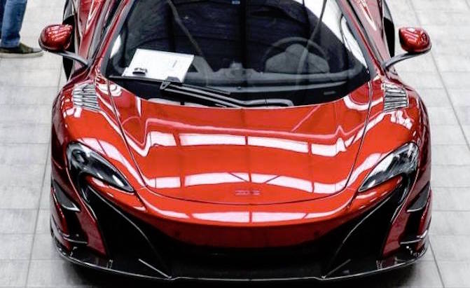 Awesome New McLaren 688HS Makes Early Appearance Online