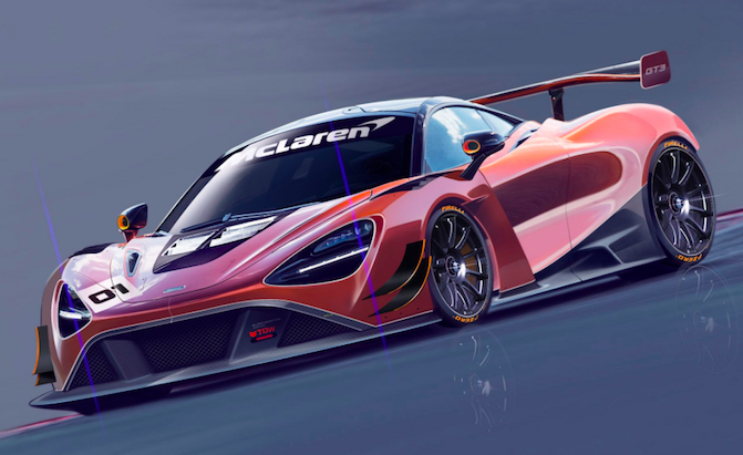 McLaren is Turning the 720S Into a GT3 Car and it Will be Amazing