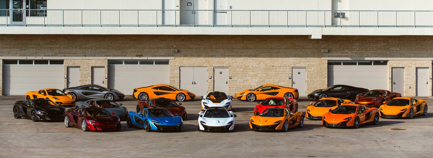 48 Awesome Photos of McLaren Invading the Circuit of the Americas Racetrack
