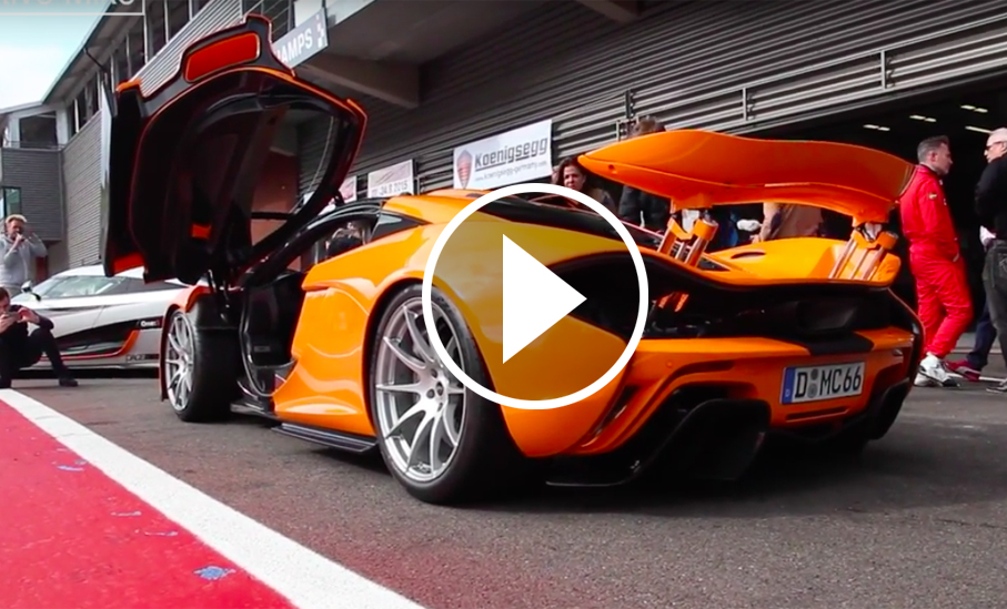 This All-Orange McLaren P1 Sounds as Awesome as it Looks