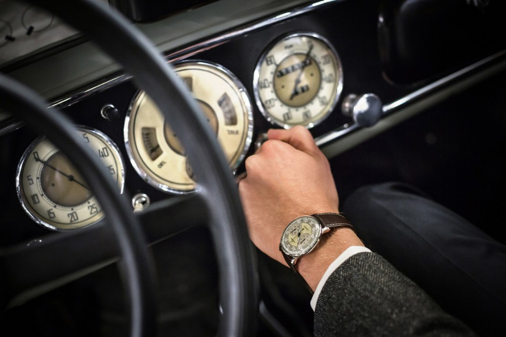 Junghans Meister Driver Chronoscope Pairs Classic Car Charm With Mechanical Passion