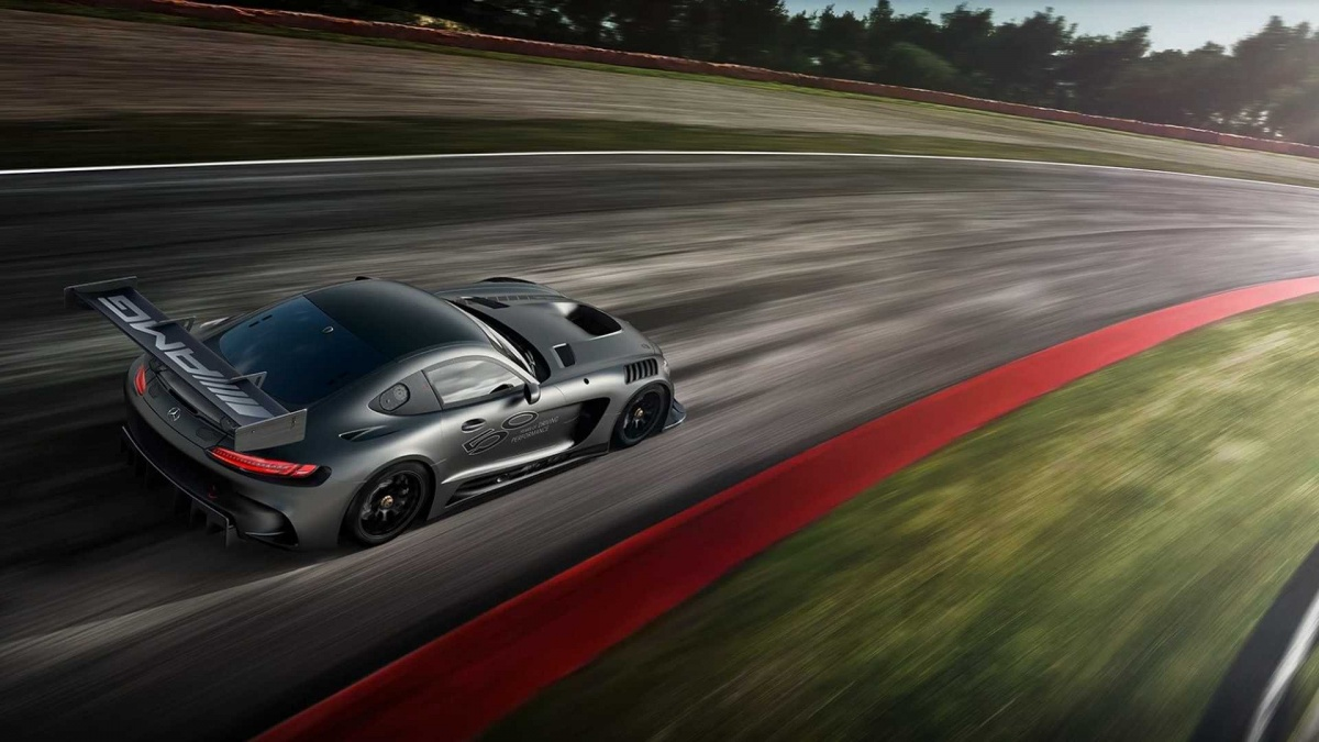 Mercedes Celebrates 50 Years of AMG with Limited-Edition Race Car