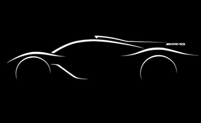 Mercedes-AMG Confirms It Will Build a Hypercar With a Formula 1 Engine
