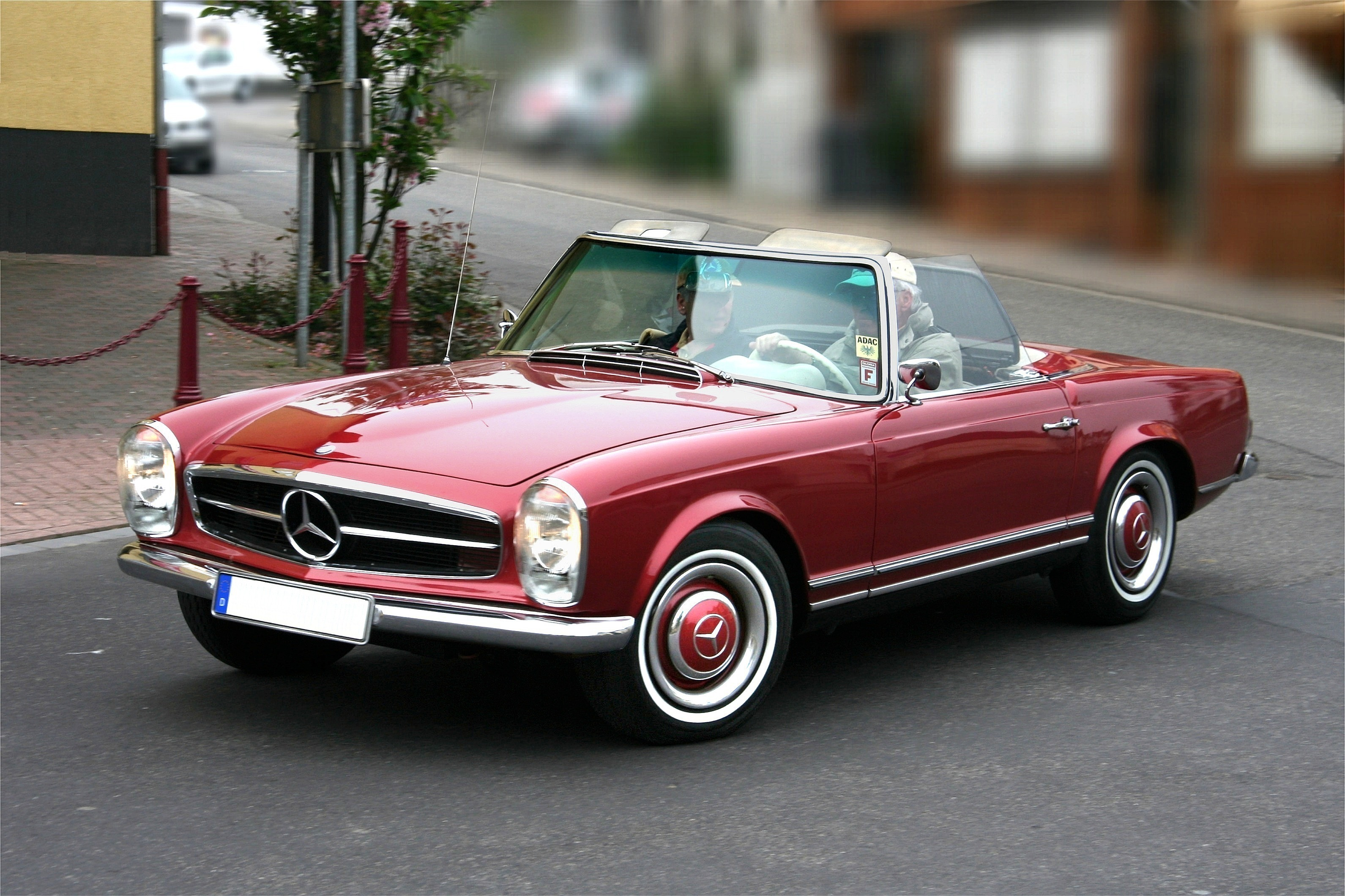 Now You Can Road Trip The Mediterranean Coast in Your Dream Classic Mercedes-Benz