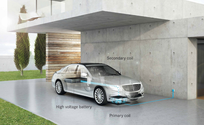 2017 Mercedes S550e Plug-In to Offer Wireless Charging