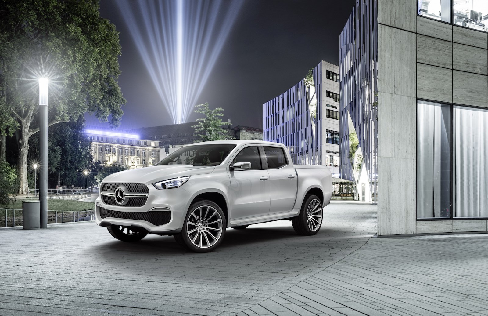 The United States Won't Pickup Mercedes' X-Class in 2017