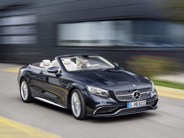 The New Mercedes S65 Cabriolet is The Ultimate Luxury Convertible
