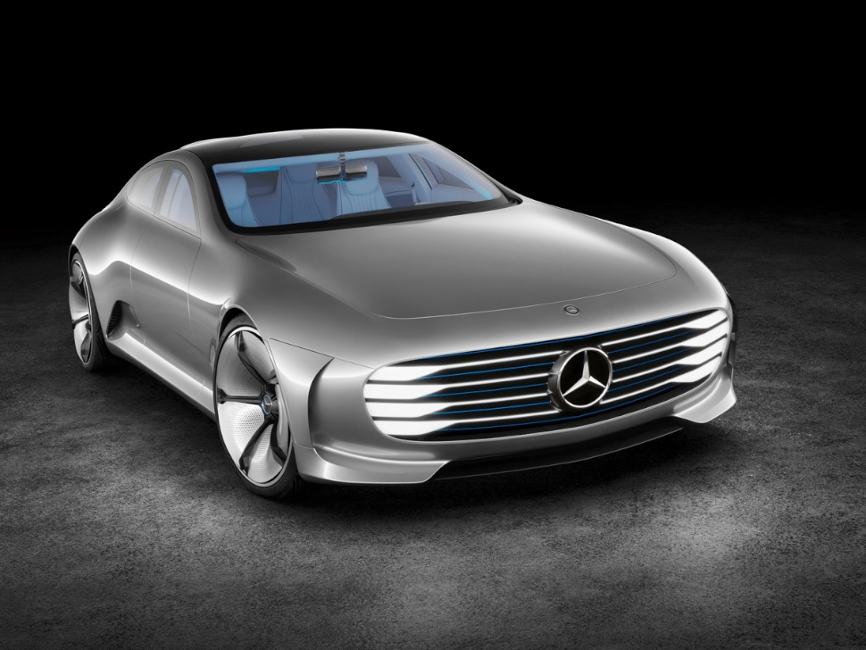This New Mercedes-Benz Concept Car Is a Real-Life Transformer