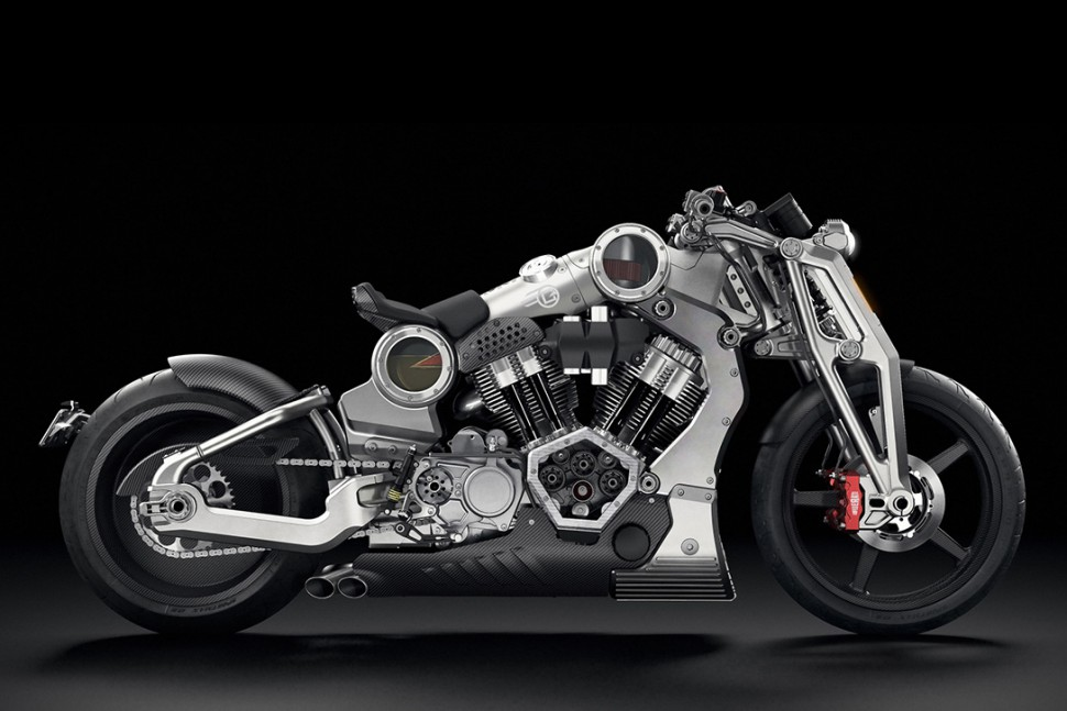 This Confederate G2 P51 Combat Fighter Motorcycle is a $120,000 Beast!
