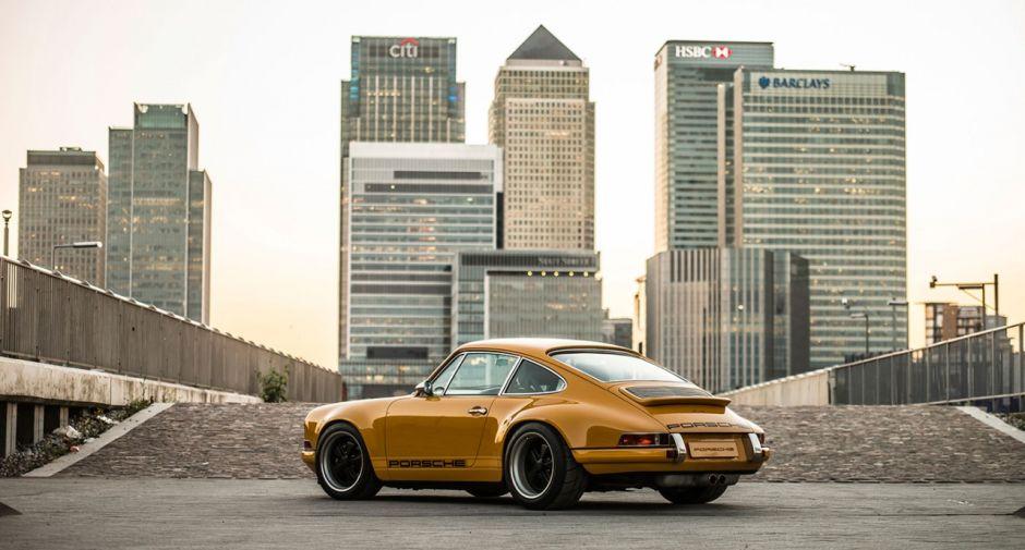 """Car Porn: 7 Photos Of A Custom Singer """"Goldfinger"""" Porsche 911"""