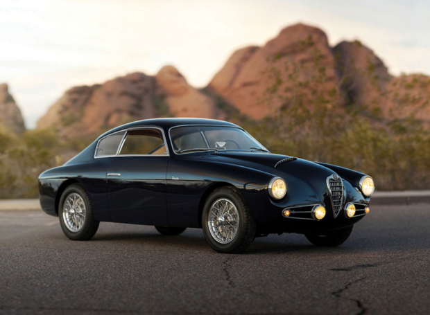 Check Out This Stunning 1955 Alfa Romeo 1900C SS Berlinetta By Zagato