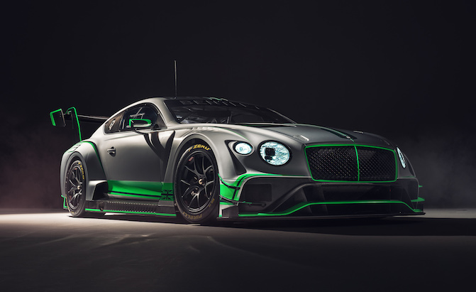 The Bentley Continental Makes for the World's Coolest GT3 Car