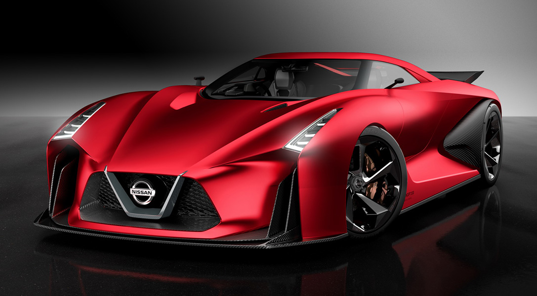 Nissan to Unveil Killer Red Concept 2020 Vision Gran Turismo In Tokyo