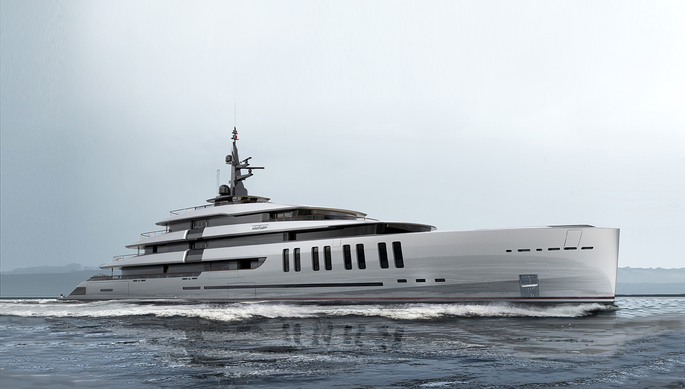 With Two Swimming Pools and a Spa the Colosseum Super Yacht is Made To Entertain