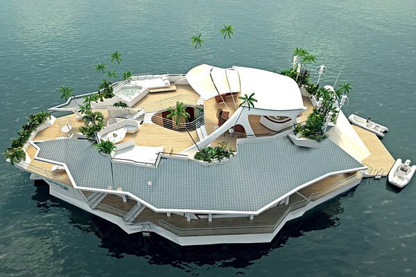 Forget the Yacht. For $5 Million You Could Float Away on Your Own Private Island!