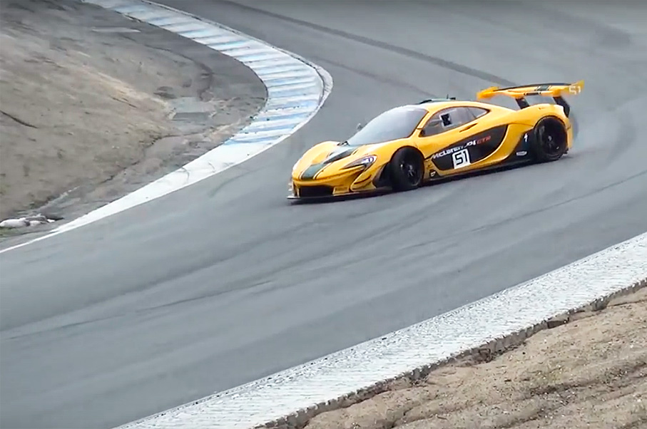 Watch This McLaren 986 P1 GTR Spin Out on Corkscrew, Barely Avoid Horrible Crash