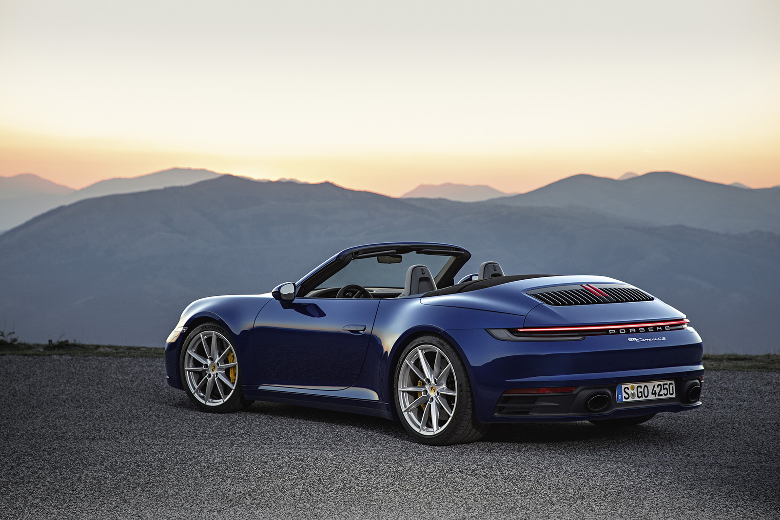 Get to 60 MPH in just 3.4 Seconds with Top Down in the New 911 Carrera 4S Cabrio