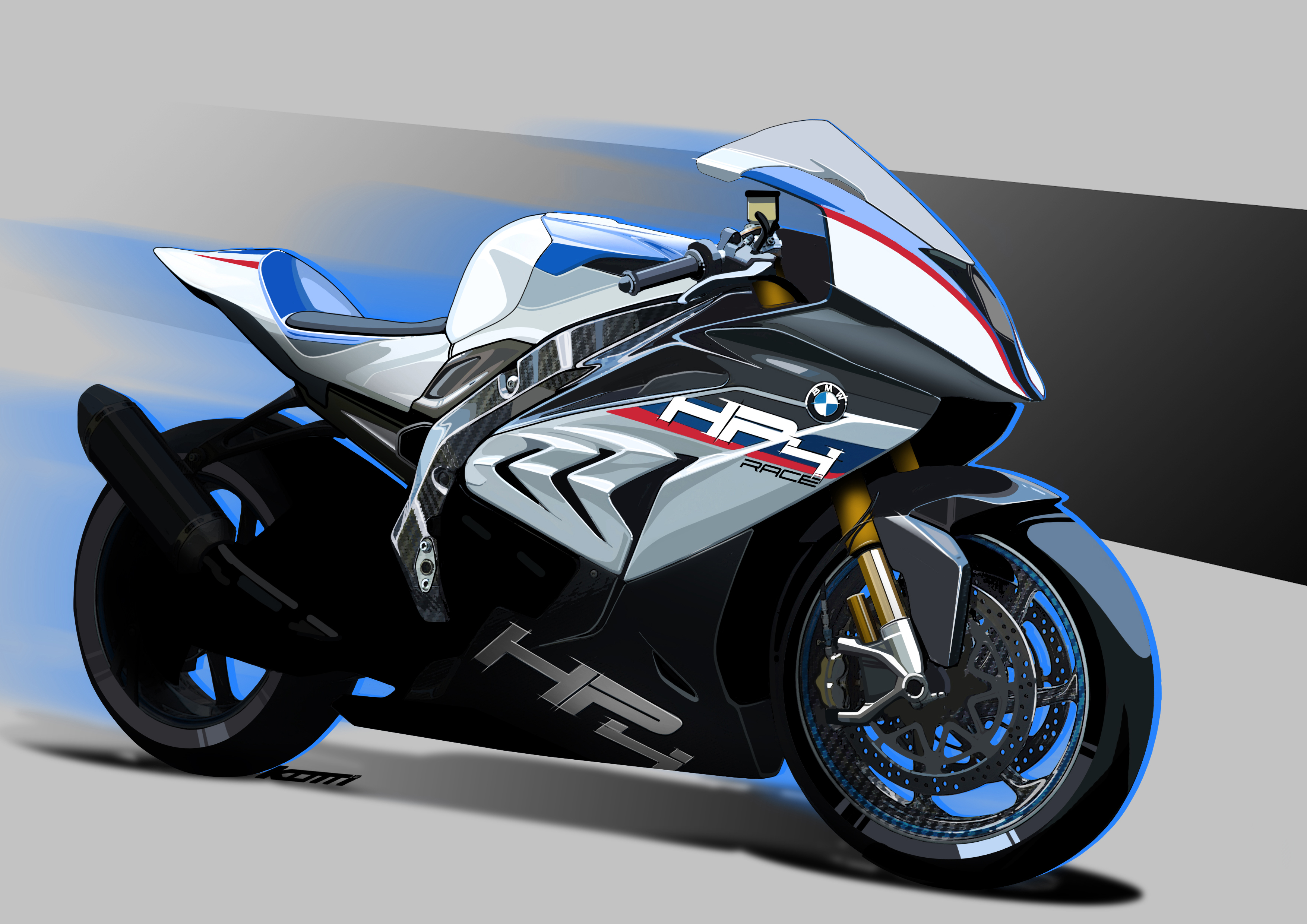The 2018 BMW HP4 RACE Will Get You High on Horsepower