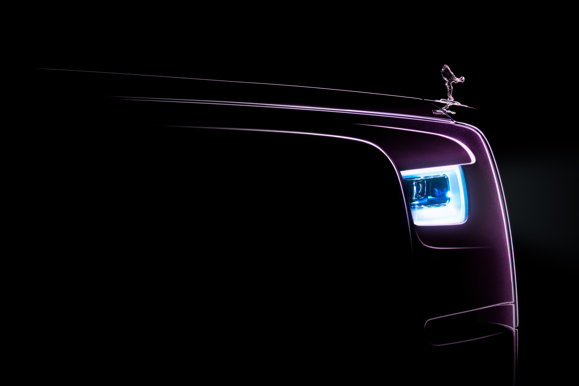 Rolls-Royce Gives us a Glimpse of the New Phantom