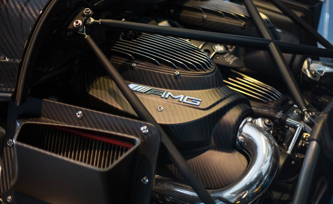 The Surprising Reason Why Pagani Uses Mercedes-AMG Engines