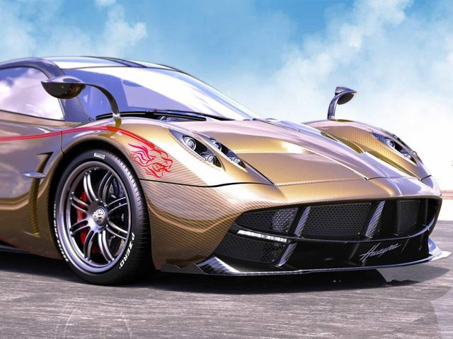Pagani Just Unveiled a Dragon in Shanghai