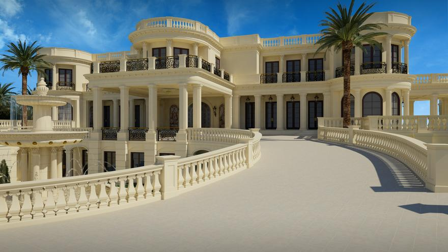 This $139 Million Gold-Plated Mansion in Florida Is Insanely Luxurious