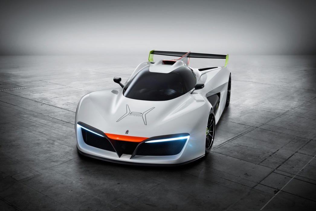 This Hydrogen-Powered Beast is Halfway Between a Race Prototype and Real Supercar