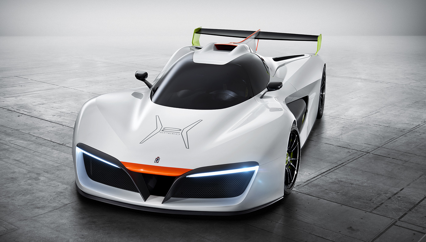 What's Really Going On Inside the Hydrogen-Fueled Pininfarina H2 Speed