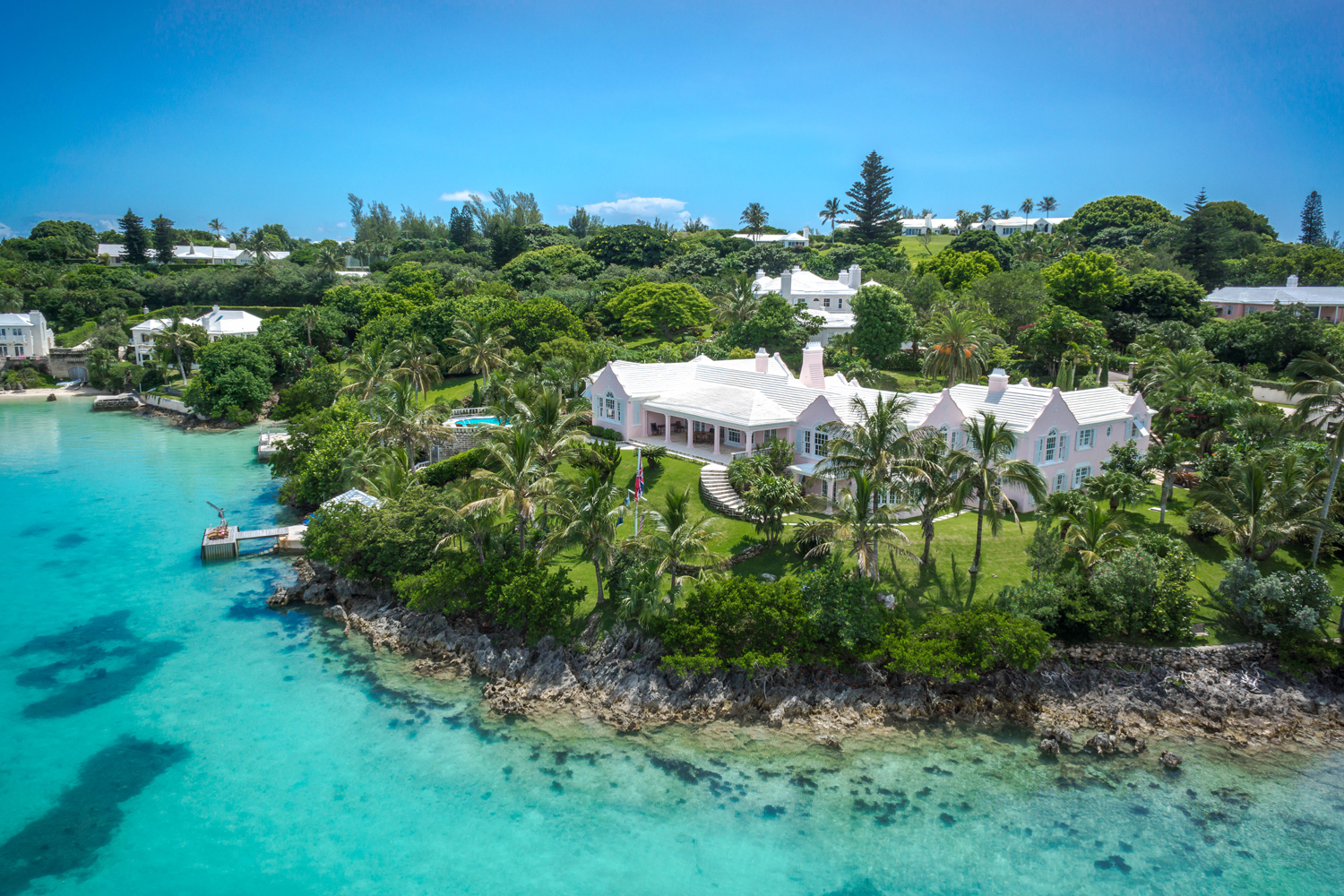 This $15 Million Bermuda Estate is a Classic Masterpiece With Views For Miles