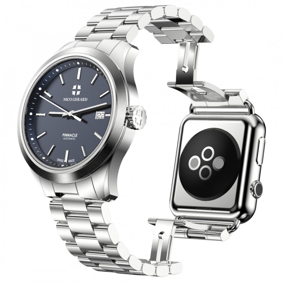 This Fancy Swiss Timepiece Comes With an Apple Watch Attached to the Back