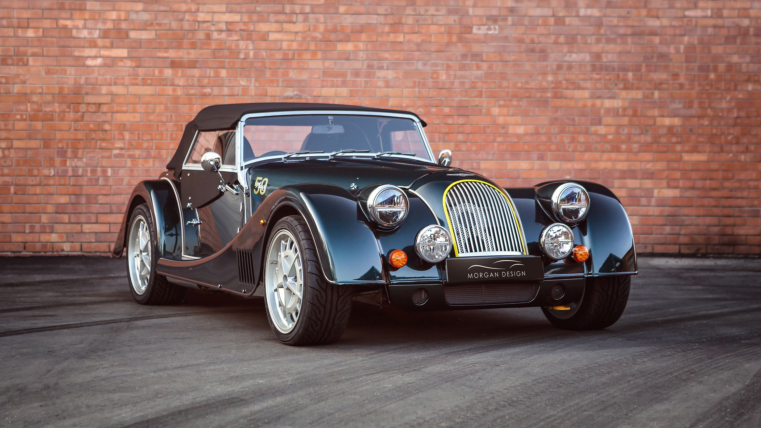 Morgan Celebrates Last V8, Teases Upcoming All-New Model
